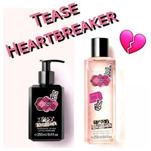 🏜New VS Tease Heartbreaker mist and lotion